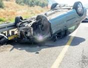 תאונת דרכים התרחשה היום מול כפר מג'ד אל-כרום, תמונות נוספות בכתבה
