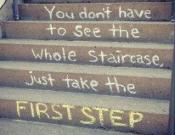 הצעד הראשון הוא תמיד הקשה ביותר