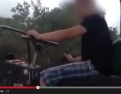 תושב עראבה נתן לנכדו בן ה-11 לנהוג במכבש - סרטון בכתבה