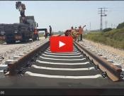 קו הרכבת עכו-כרמיאל: מניחים פסים ראשונים