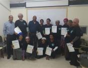 14 נשים וגברים מהקהילה האתיופית התנדבו לסיירת ההורים בכרמיאל