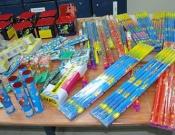 משטרת כרמיאל תמנע מכירת צעצועים מסוכנים