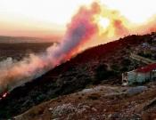 משגב: השריפות בטל-אל וגילון נגרמו מהצתות