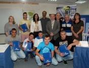 לראשונה : דרכון מקצועי אירופאי הוענק לתלמידים מהארץ