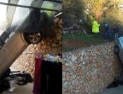 דיר אל אסד: לפנות ערב נהג רכב פרטי איבד שליטה ונפל לתוך חצר של בית