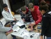 לראשונה בכרמיאל – תלמידי אורט פסגות משתתפים בתחרות בניית הרובוט First