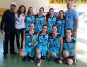 נבחרת הבנות בכדורסל של אורט פסגות העפילה לאליפות הארצית